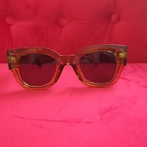 """FREE PEOPLE"" MATERA SUNGLASSES NWOB (OLIVE)"
